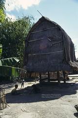 Lombok, Sassak Village, traditional architecture