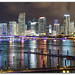 Miami Skyline by Ron Raffety