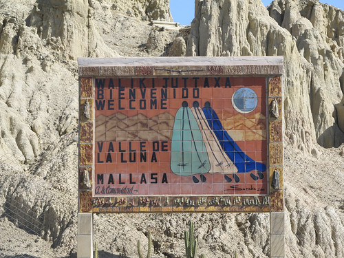 El Valle de la Luna se trouve à Mallasa, une petite village en périphérie de La Paz