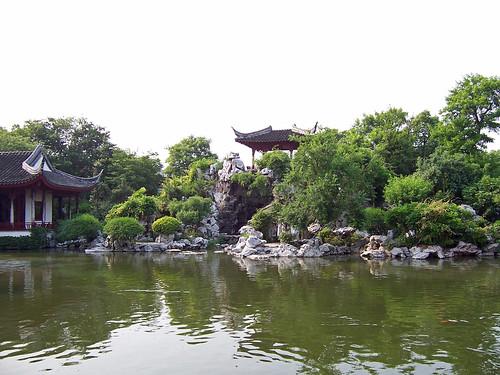 geo:lat=3116216900 geo:lon=12071371600 geotagged china chn jiangsu park see tongli 中国 公园 同里 江苏 湖 pearlpagodagarten