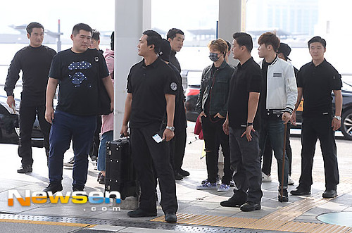 Big Bang - Incheon Airport - 24sep2015 - Newsen - 02