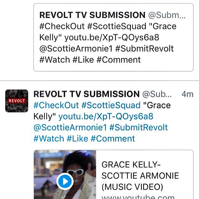 REVOLT Tv Submissions!! Mentioned Your Name #ScottieSquad!… | Flickr