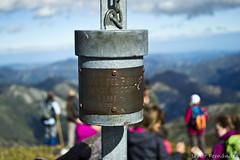 Buzón de cumbre Pico Mocoso (1.980)