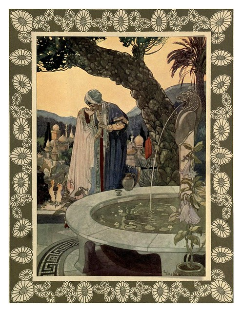 011-Rubáiyát of Omar Khayyám-1913- Ilustrado por René Bull