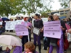 Manifestacion contra la violencia machista