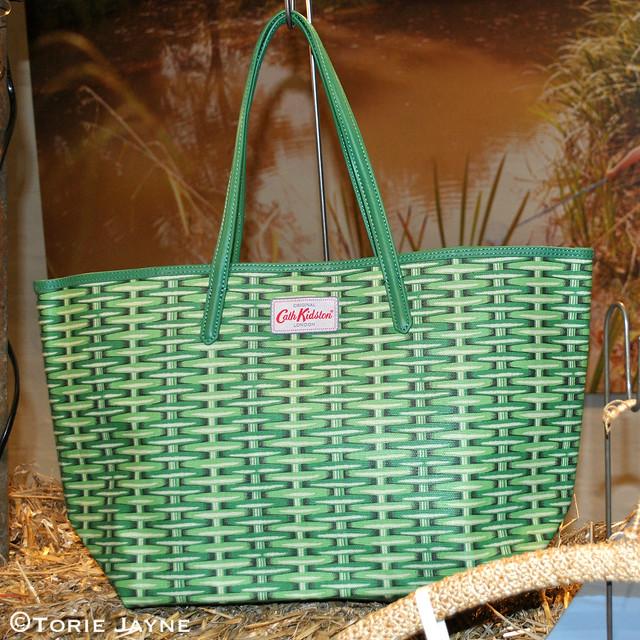 Cath Kidston printed basket bag Spring Summer 2015