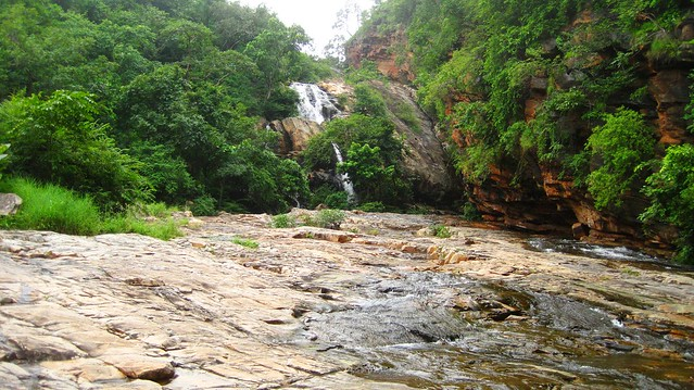 Waterfalls at Prahlad Betika, Ahobilam