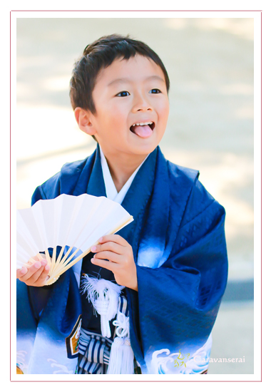 七五三写真 ロケーション・出張撮影 拳母(ころも)神社 愛知県豊田市 子供写真 自然な ナチュラル