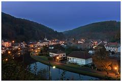 L'heure bleue à Lutzelbourg - Photo of Wintersbourg