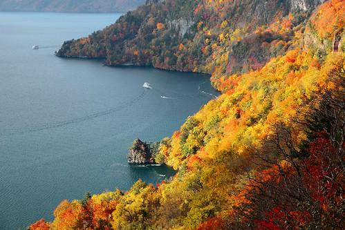 迂迴的相遇  Beautiful Encounters ~ 十和田湖 , Lake Towada~