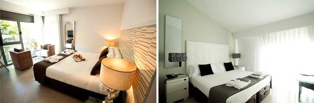 Hotel & Spa Niwa, Habitaciones