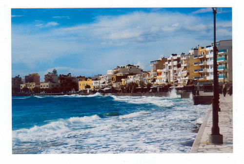 "Ierapetra from the book ""Le isole lontane"" by Sergio Albeggiani"