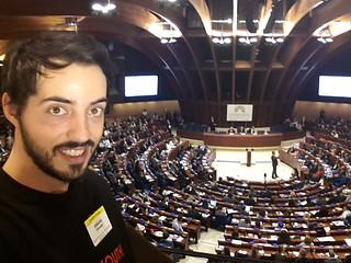Giuseppe al Consiglio d'Europa