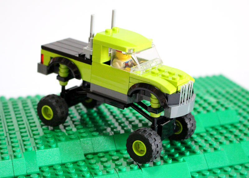 Full Size Crew Cab Dually Ford F-350: A LEGO® creation by Brick ...