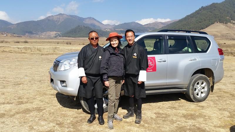 Bhutan Phobjikha Valley Gangtey Goenpa