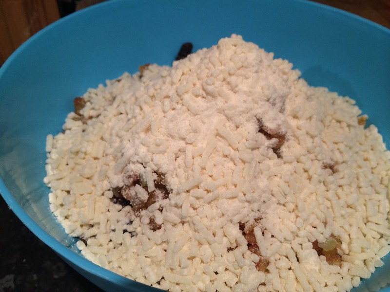 Mince Pies : Add the suet