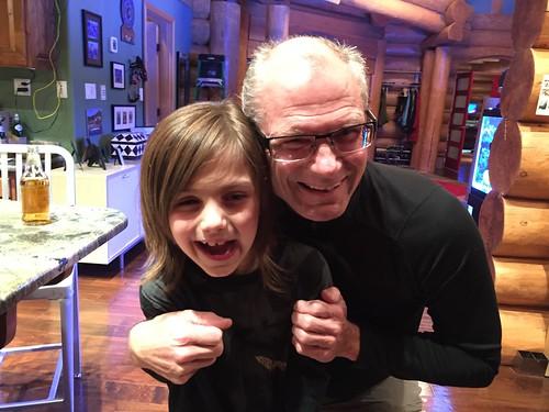 Sequoia and his grandpa Jeff Dude