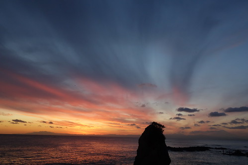 sea sky cloud rock japan evening twilight 日本 雲 kanagawa 岩 夕景 海 空 yokosuka 神奈川 横須賀 tateishi 立石