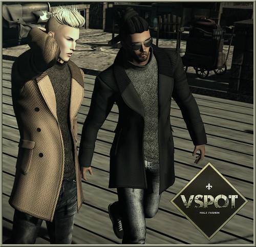 V-Spot's Boondock Pea Coat