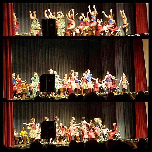African dance: Kakilambe #waldorf #sacramentowaldorfschool #12yearold #seventhgrade #christmas