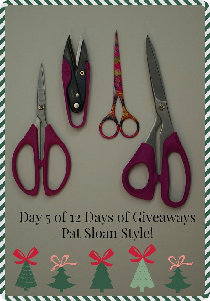 pat sloan day 5 of 12 days of giveaways button