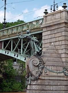 Čechův most, Praha, Prague, Prag / Czech Republic