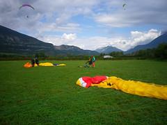 Landing field