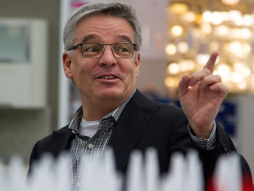 Lowe's Canada president Sylvain Prud'homme. Photo credit: Financial Post.