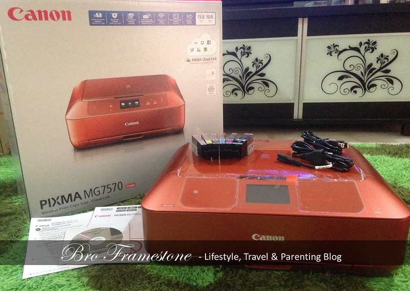 Unboxing Canon PIXMA MG7570