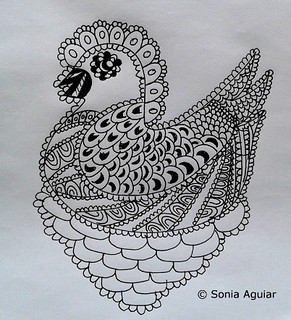 "Original Art Doodle ""Versatile doodle #1"""