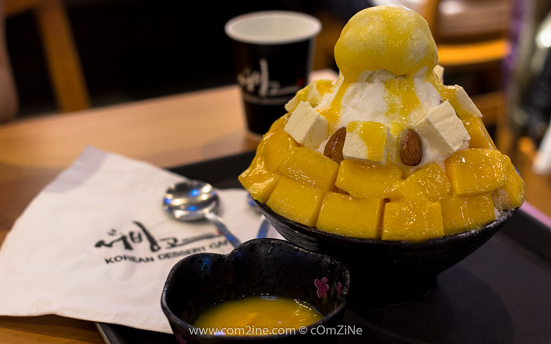 Seobinggo - Mango Cheese (น้ำแข็งไสปุยหิมะ + มะม่วง + ก้อชีส)