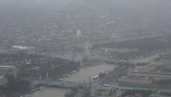 Paris through the mist