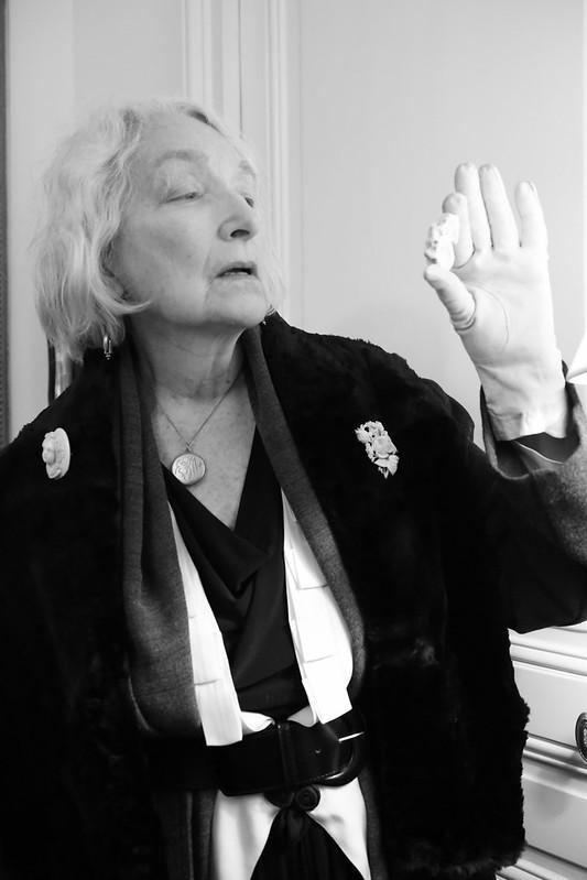 Helen Tange. Reine des Apaches