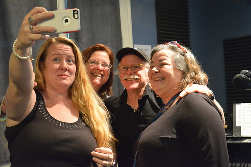 Pfister Sisters selfie: Debbie Davis, Yvette Voelker, Amasi Miller, Holley Bendtsen. Photo by Kichea S Burt. Photo by Kichea S Burt.