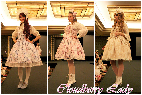 Fashion Show - Cloudberry Lady