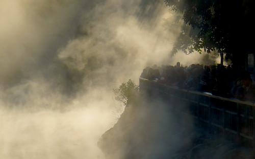 Beitou Thermal Valley Silhouette