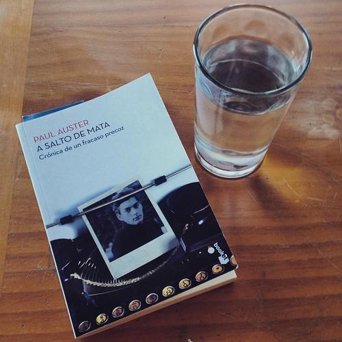 Paul Auster. A salto de mata #libro #lectura #book #read #Auster 📖