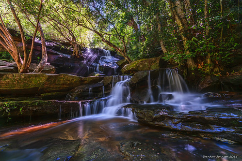 longexposure trees sun water lens waterfall bush nikon rocks stream sigma wideangle falls nsw slowshutter centralcoast rockpool ceek sommersby d5300