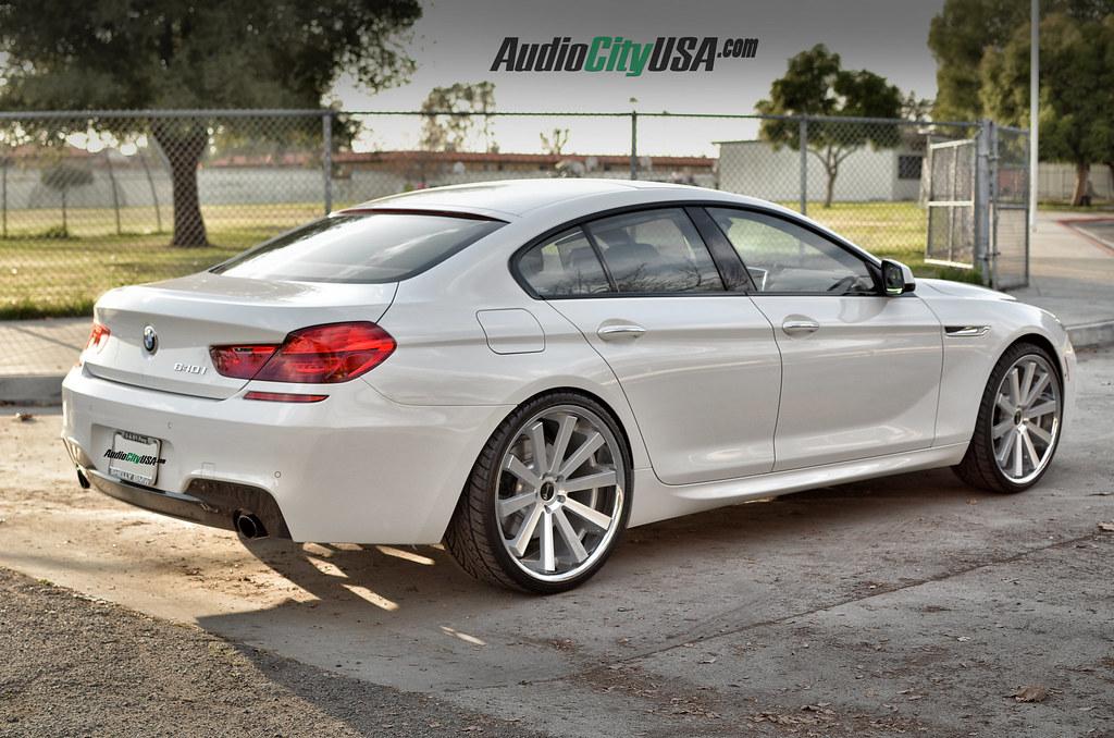 BMW I Gran Coupe M Pkg On Gianelle Santo S Silver - 640 i bmw
