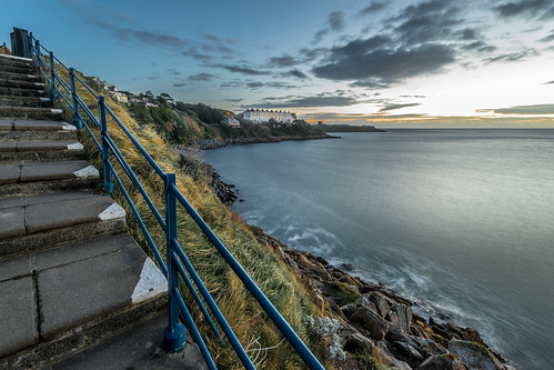 longexposure travel ireland sea sky dublin sun seascape motion building nature clouds stairs sunrise landscape photography dawn photo rocks europe apartments terrace sony wideangle sorrento onsale ultrawide killiney konicaminolta1735 sonya7