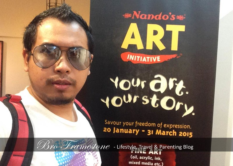 Top Blogger Malaysia - Nando's Art Initiative
