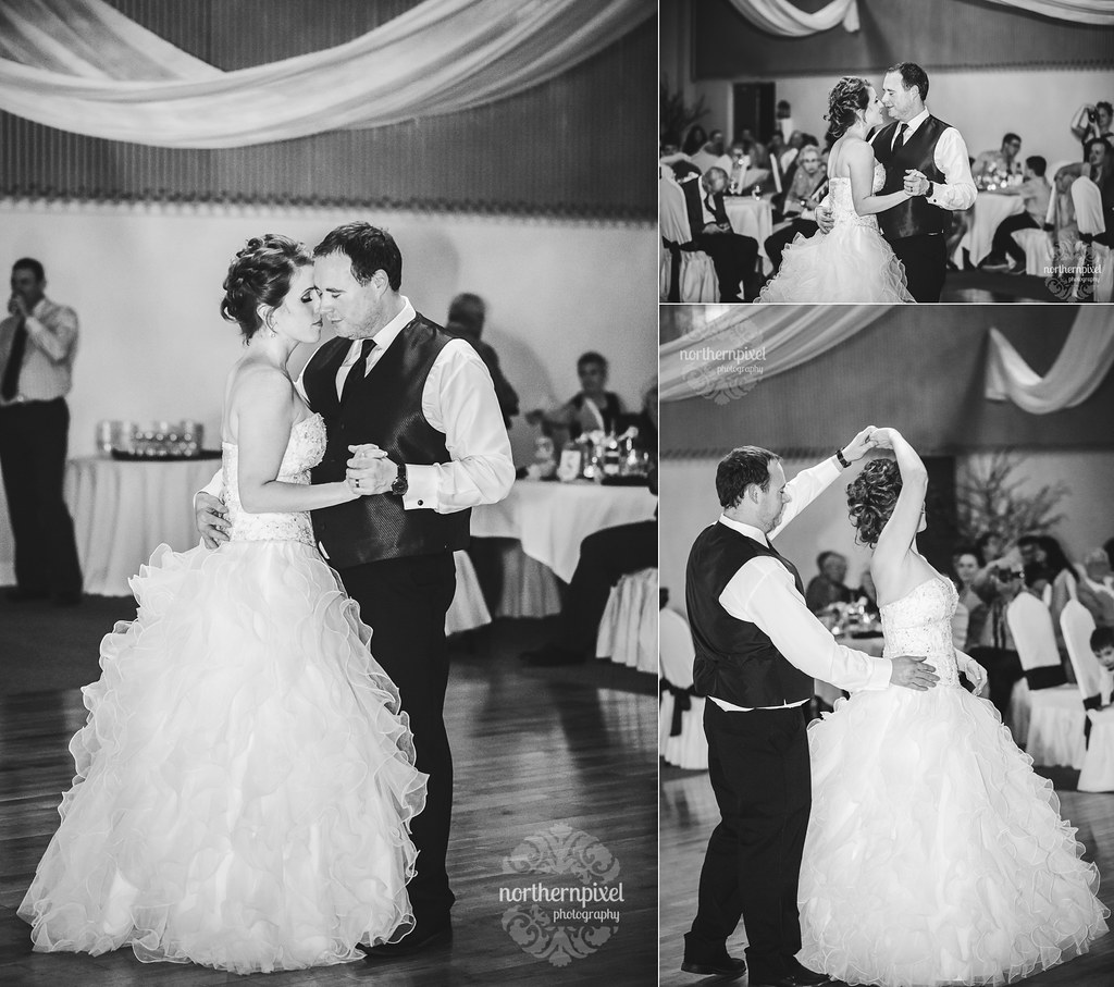 Dancing at the Hart Crown Banquet Hall - Prince George Wedding Reception Venue