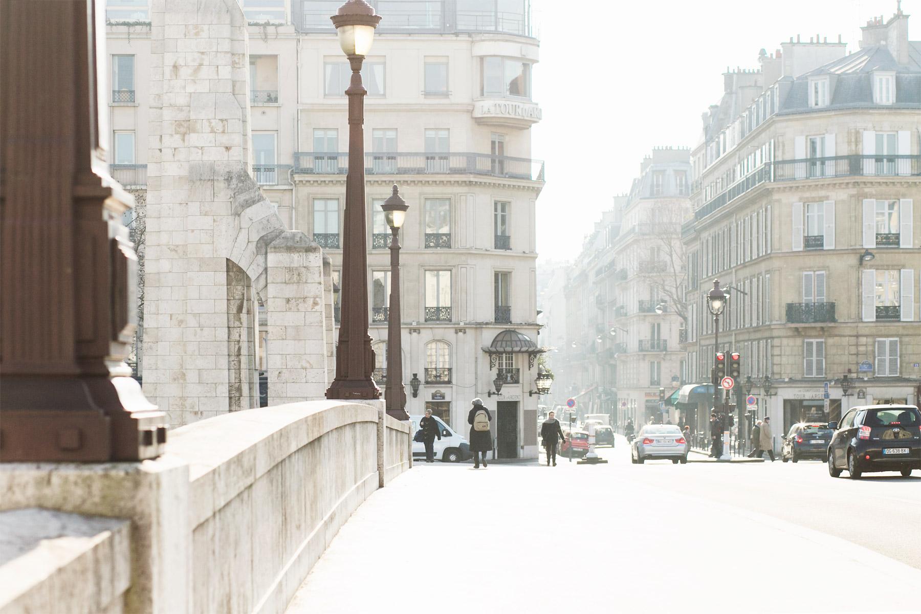 Beautiful light in Paris