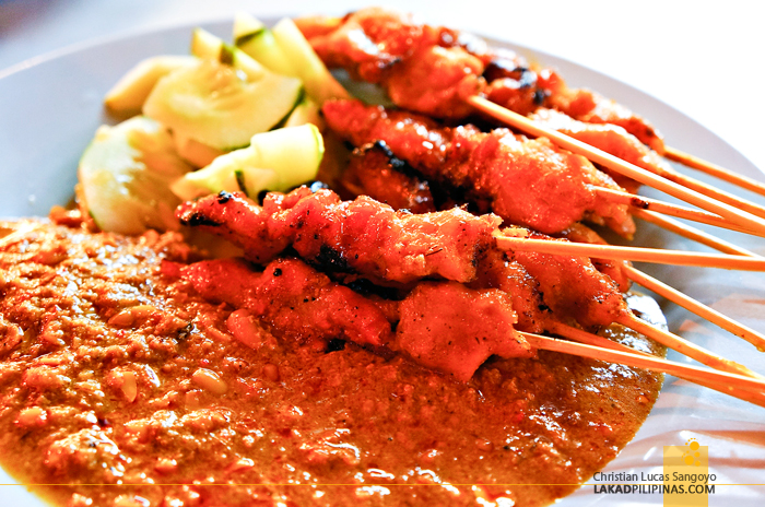 Chicken Satay at KL's Jalan Alor