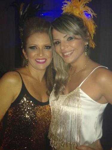 Andréa Carneiro e Tatiana Magalhães
