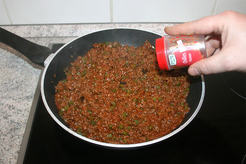 29 - Mit Chiliflocken abschmecken / Taste with chili flakes
