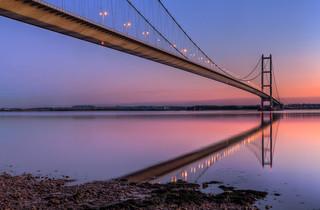 Humber Bridge dusk IMG_9097