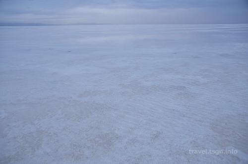 【写真】世界一周 : ウユニ塩湖(朝)
