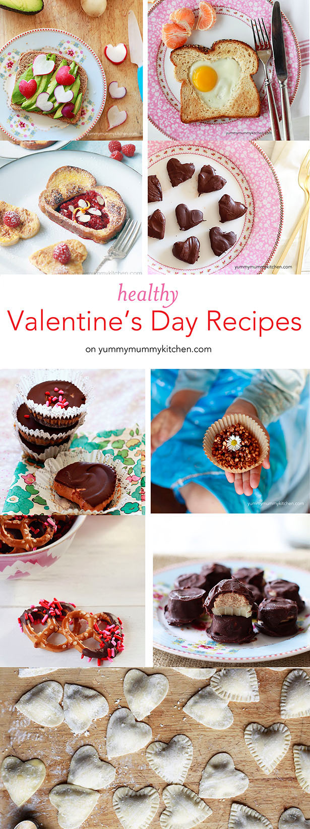 healthy valentine's recipes