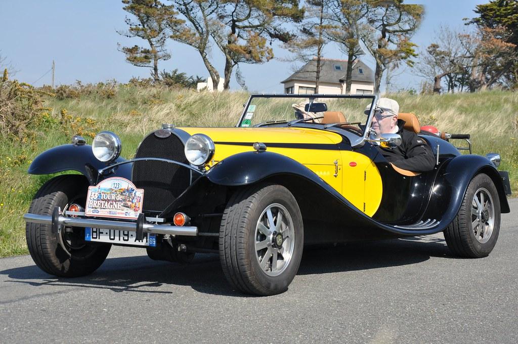 fluidr / de la chapelle, bugatti type 55, roadster, replica